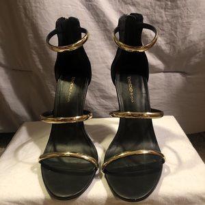Bebe strappy heels